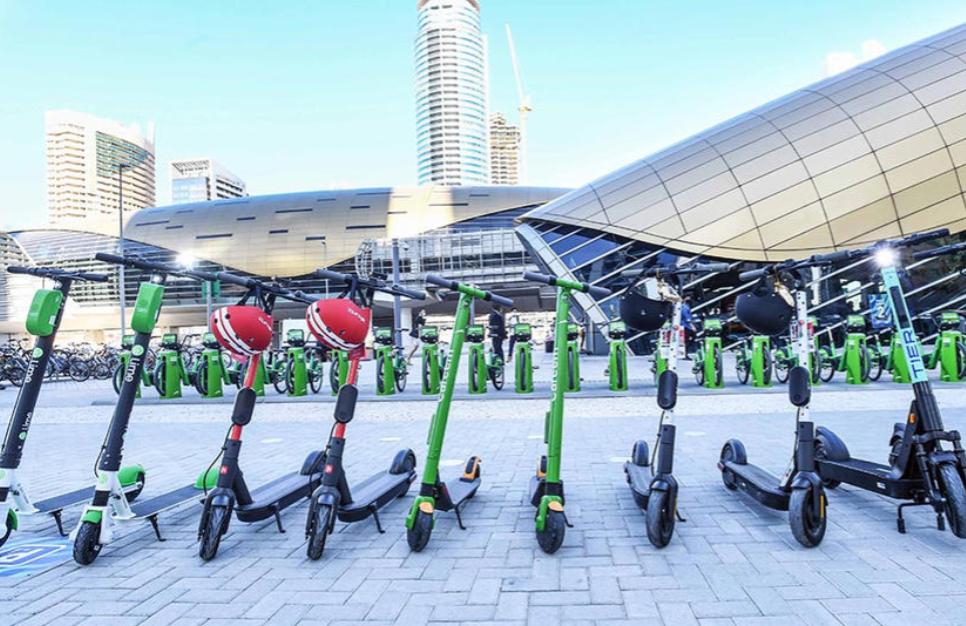 E-Scooter leihen in Arabien