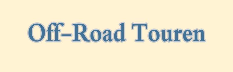 Off-Road-Touren