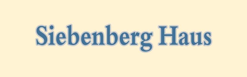 Siebenberg Haus Museum in Jerusalem